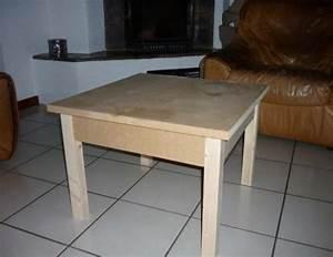 Fabriquer Une Table Basse En Palette : fabriquer une table basse en bois astuces pratiques ~ Melissatoandfro.com Idées de Décoration