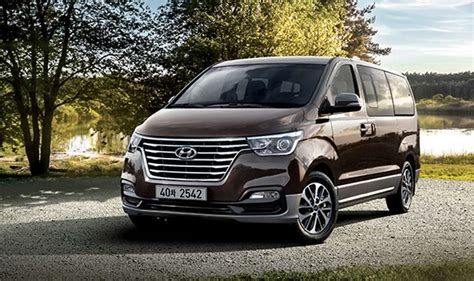 2018 Hyundai Grand Starex Facelift Officially Revealed