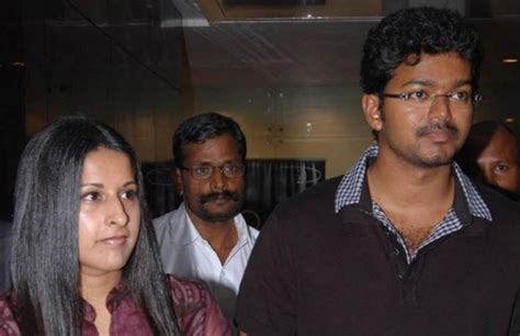 Vijay With His Family