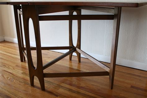 Danish Mid Century Modern Gateleg Dining Table