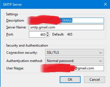 Smtp Gmail 25 by Configuration Smtp Gmail