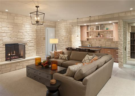 incredible farmhouse basement design
