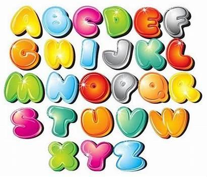 Graffiti Bubble Letters Vector Graphics