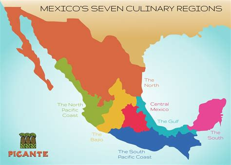 cuisine by region seven regions picante