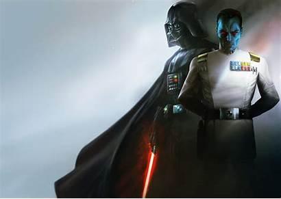 Thrawn Admiral Grand Wars Vader 4k Ultra