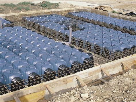 Vespaio Ghiaia - cupolino in plastica e modulo per vespaio aerato cassero
