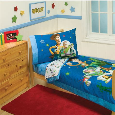 disney toy story  piece toddler bed set