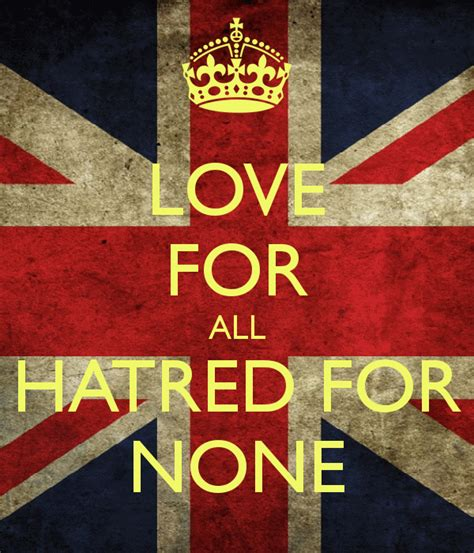 For All by For All Hatred For None Poster Musawirdean101