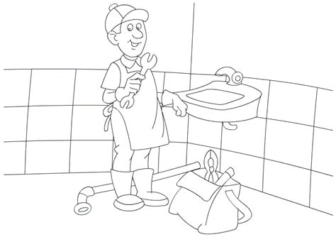 people  jobs coloring pages labor day coloring pages