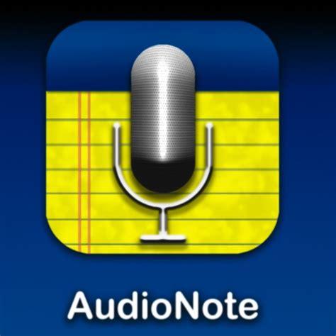 audionote    app  meetings  note