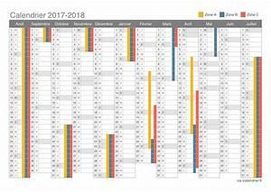 Jour De Paques 2018 : calendrier scolaire 2017 2019 2018 calendar printable with holidays list kalender kalendar ~ Dallasstarsshop.com Idées de Décoration