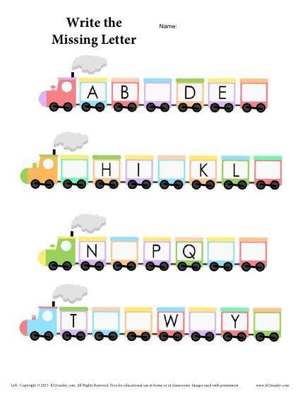 alphabet worksheet abcs