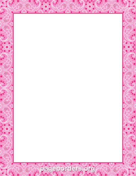 Pink Chevron Border Clip Art (61
