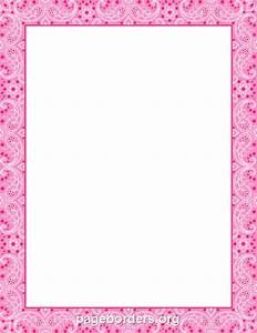 Free Pink Zebra Border Clip Art (46+)