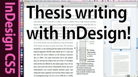 essay tutorial indesign tutorial creating a custom cross reference