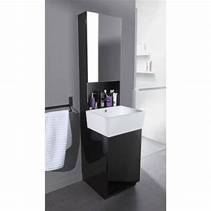 Meuble Avec Miroir : meuble vasque avec miroir ~ Teatrodelosmanantiales.com Idées de Décoration