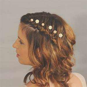 Ivory Flower Hairpins Small Wedding Hair Flowers Bridal