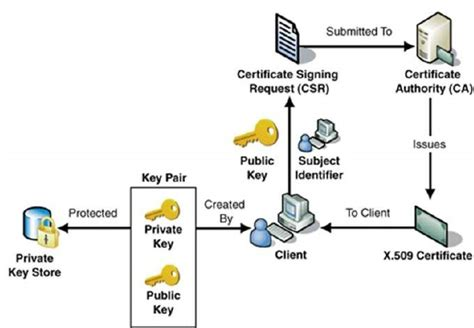 digital certificate key infrastructure tutorialspoint