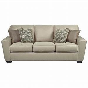 Benchcraft calicho 9120339 contemporary queen sofa sleeper for Sectional couch with queen sleeper