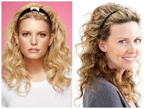 curly hairstyles  oval face shapes hair
