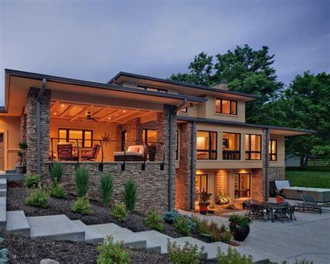 contemporary exterior design pictures remodel decor  ideas basement house plans lake