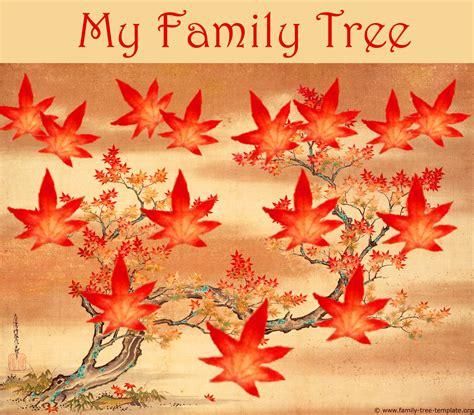 blank family trees templates   genealogy graphics