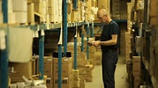 Warehouseman Taking Stock Stock Footage Video 3875480 ...