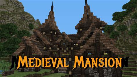 minecraft gundahar tutorials medieval rustic mansion  youtube