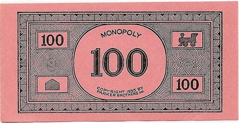 nice  monopoly game single patent