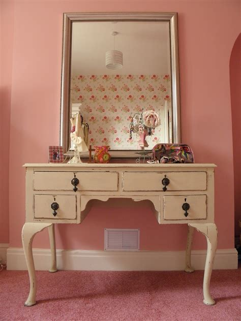 desk with drawers and mirror rectangle white wooden makeup table with drawers and