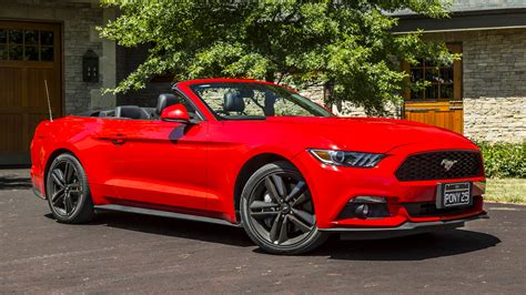 Ford Mustang by 2016 Ford Mustang Ecoboost Convertible Review Caradvice