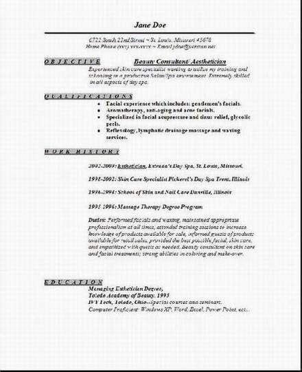 aesthetician resume1 ideas esthetician resume cover letter for resume medical esthetician