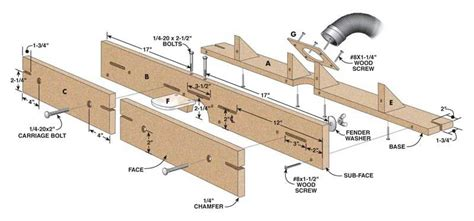 feature filled router table fence diy router table