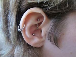 Rook, Conch and Lobes