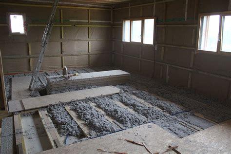 dalle beton leger sur plancher bois plancher de l 233 tage notre solution acoustique la triskeline