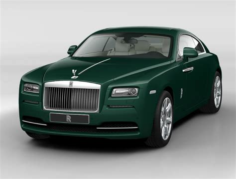 green rolls royce rolls royce wraith 2015 couleurs colors