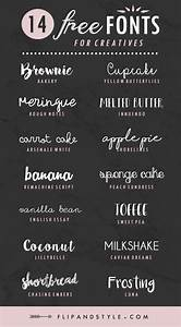 14 Free Fonts For Creatives - Flip And Style