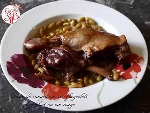 Recette Cuisse De Canard Vin Blanc : recettes de flageolets et canard ~ Dode.kayakingforconservation.com Idées de Décoration