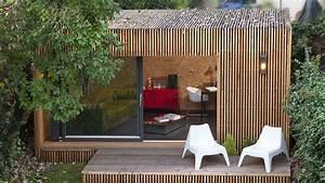 Chalet De Jardin Contemporain : chalet de jardin habitable alternatives pour gagner surface ~ Premium-room.com Idées de Décoration
