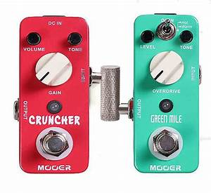 Offset Crank 1  4 Ts Male To Male Guitar Effect Pedal