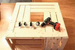 Table Basse Caisse Bois : on a test le kit de table basse avec caisses en bois de simply a box d conome ~ Nature-et-papiers.com Idées de Décoration