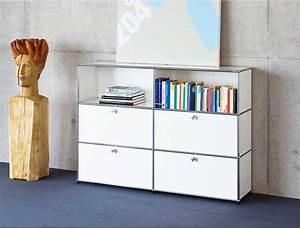 Usm Haller Sideboard Weiß : usm haller highboard ein weiteres usm haller highboard mit vitrine guter zustand chf usm ~ Orissabook.com Haus und Dekorationen