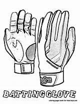 Coloring Baseball Pages Gloves Glove Football Drawing Sheet Batting Colouring Boys Batters Getdrawings Printable Yescoloring Getcoloringpages Fired sketch template
