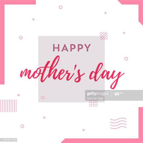 mothers day card high res illustrations getty images