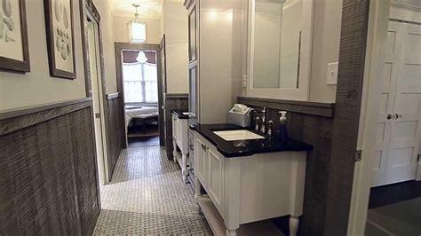 southern living showcase home jack  jill bathroom youtube