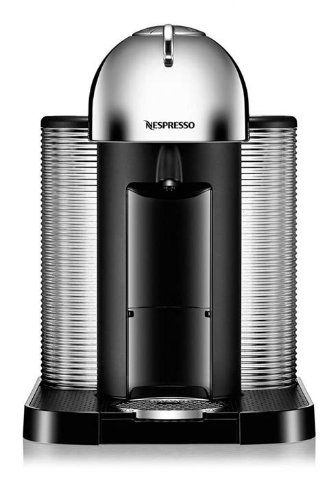 Since i don't use milk or cream in my coffee, i just have the standard nespresso vertuo next machine. Nespresso Vertuo Coffee and Espresso Machine by Breville, Chrome - Ares Kitchen and Baking Supplies