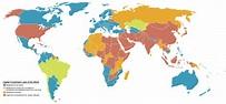 Image - Death Penalty World Map.png   Liberapedia   FANDOM ...