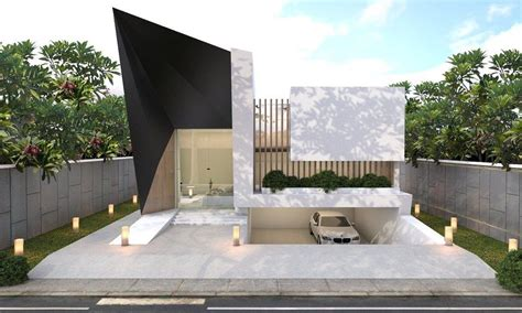 Modern Style Architectural Renders by Modern Villa By Candra Risanto Vray Render