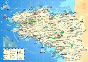 Carte de Bretagne Géographie Arts et Voyages