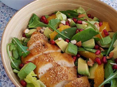 cuisine au grill recettes de salade sucrée salée
